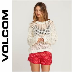 NWT | Volcom Daze Fly By Sweater - Star White